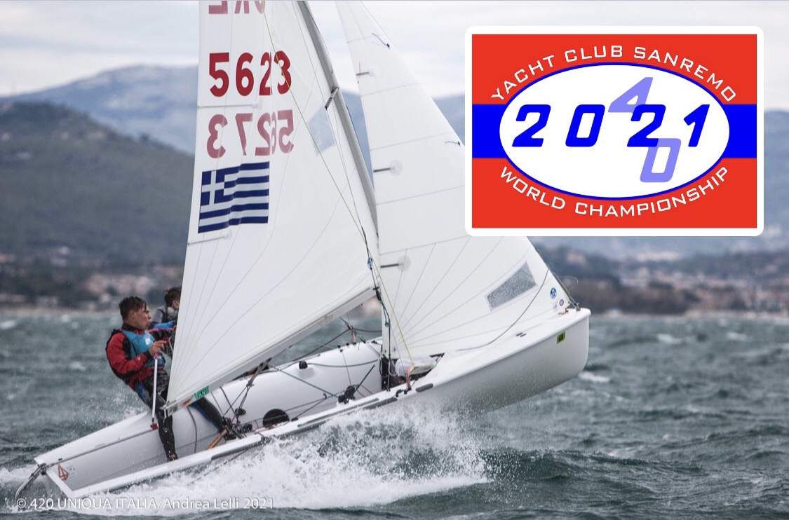 Time to register and pay the entries - 2021 420 World Championships
