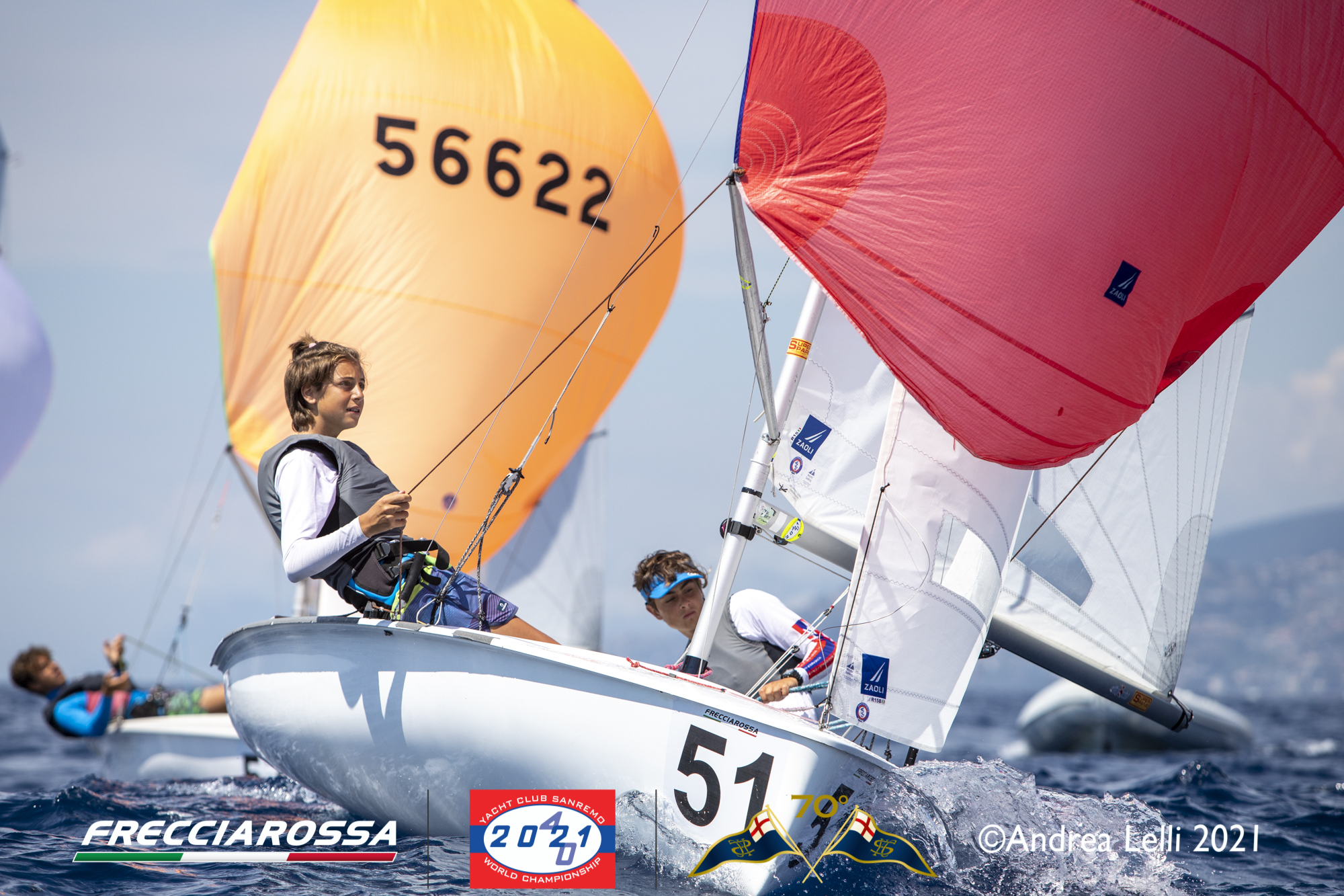 Spectacular fourth day of races at the 2021 Worlds in Sanremo