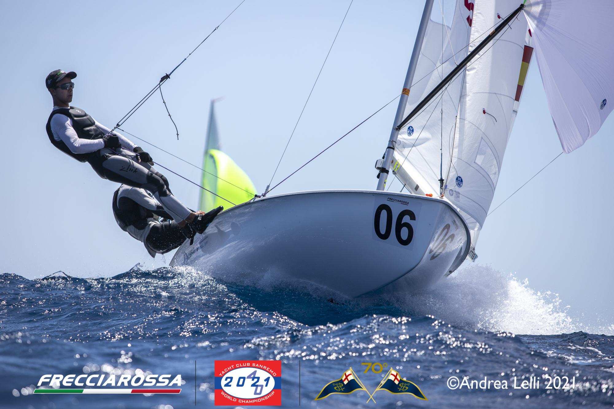 Superb sailing conditions on fifth day of racing in Sanremo
